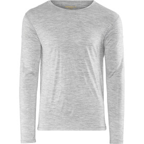 Devold Breeze Fietsshirt Korte Mouwen Heren, grey melange